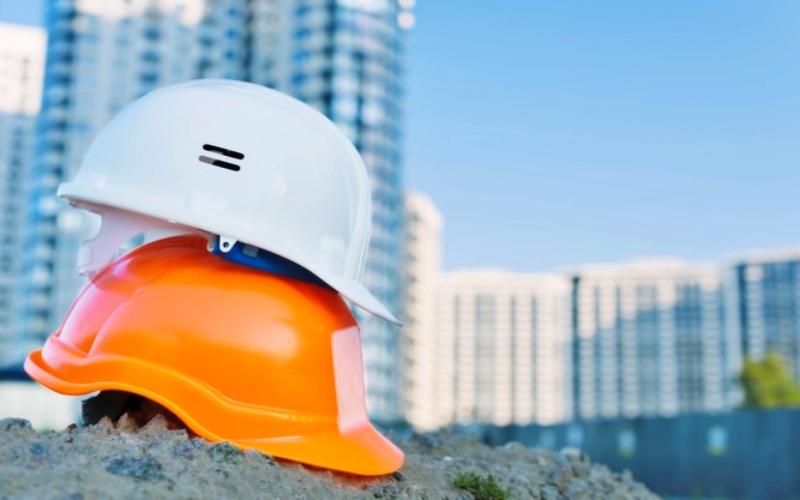 alat keselamatan kerja-safety helmet-helm pengaman
