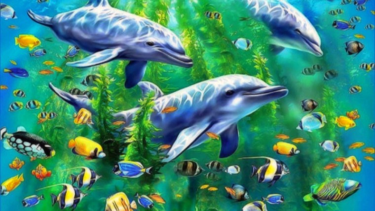 hewan yang hidup di air