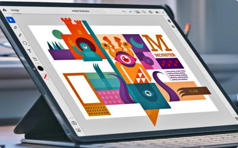 prospek kerja desain grafis Illustrator