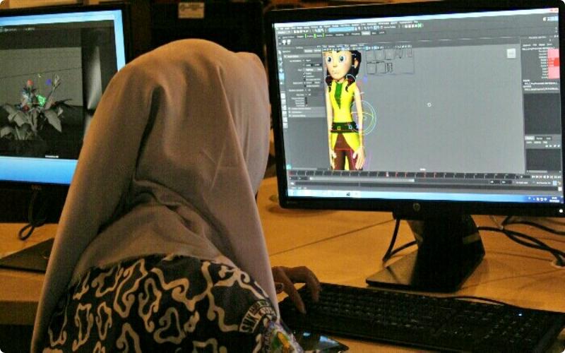 prospek kerja desain komnikasi visual Animator