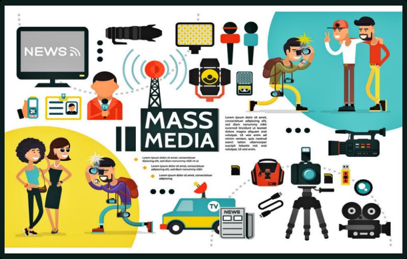 prospek kerja desain komunikasi visual Media Massa