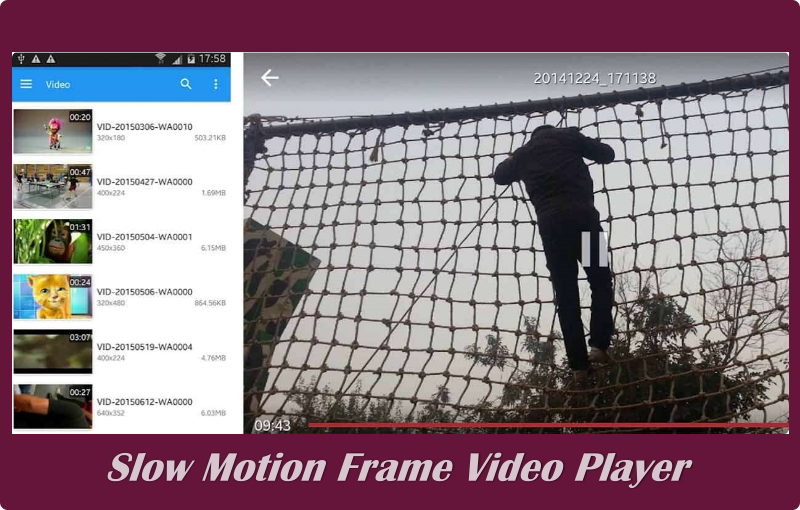 aplikasi Slow Motion Frame Video Player