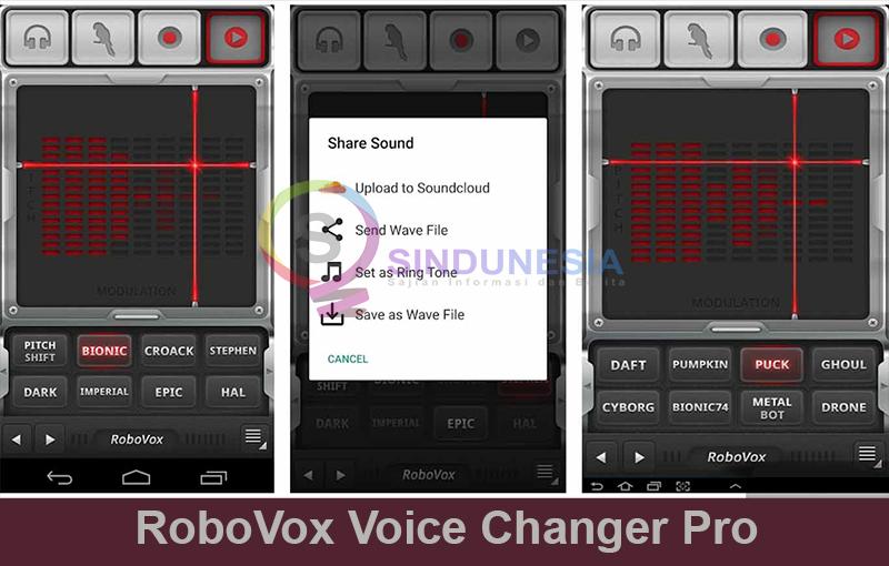 aplikasi-pengubah suara real time android