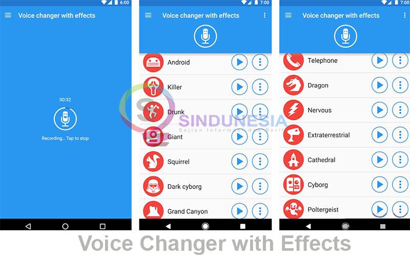 aplikasi pengubah suara wanita