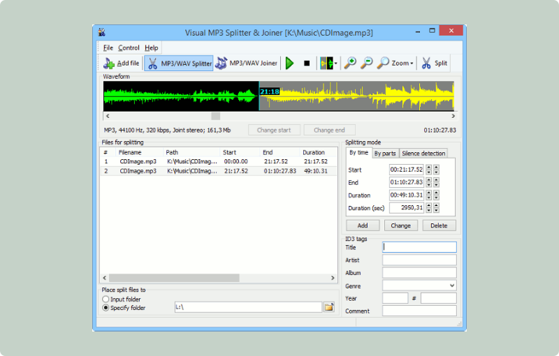 download aplikasi edit musik pc Mp3 SPLT