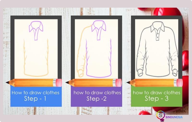 Aplikasi desain baju Learn to Draw Clothes