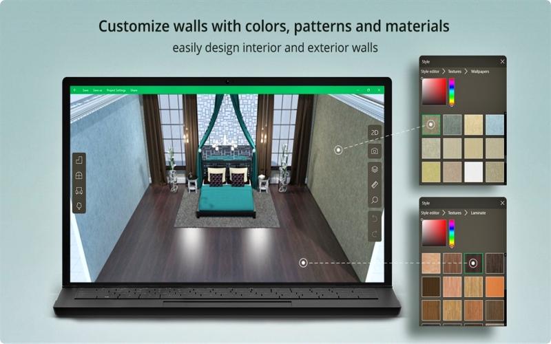 Aplikasi desain rumah Planner5D