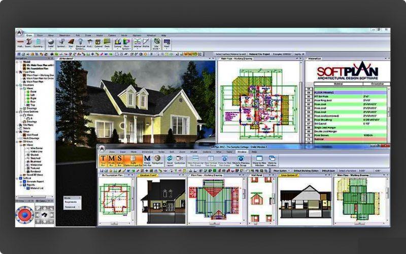 Aplikasi desain rumah Softplan