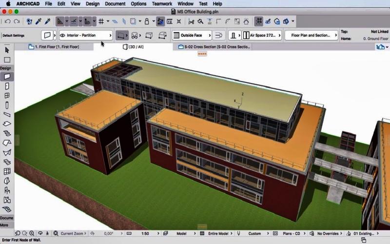 Aplikasi desain rumah ArchiCAD