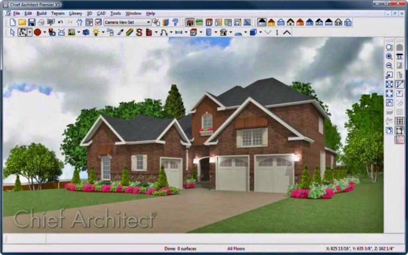 Aplikasi desain rumah Kepala Arsitek