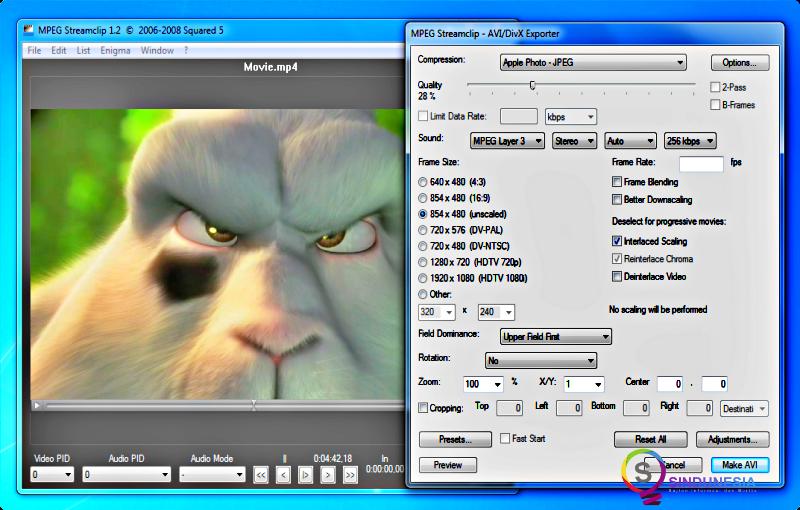 Download video converter terbaru MPEG StreamClip