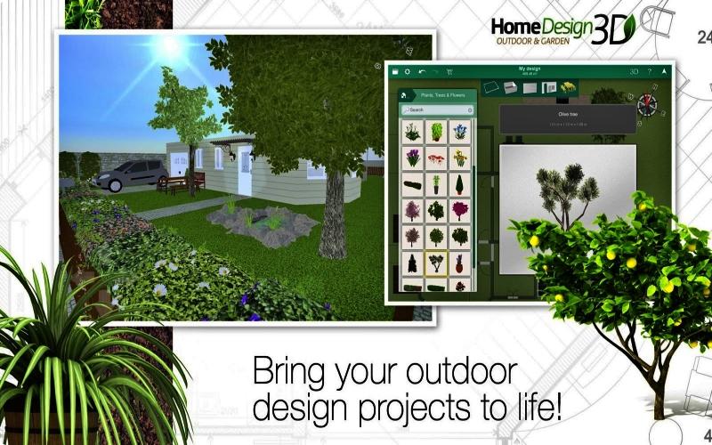 Desain Rumah 3D Outdoor / Garden