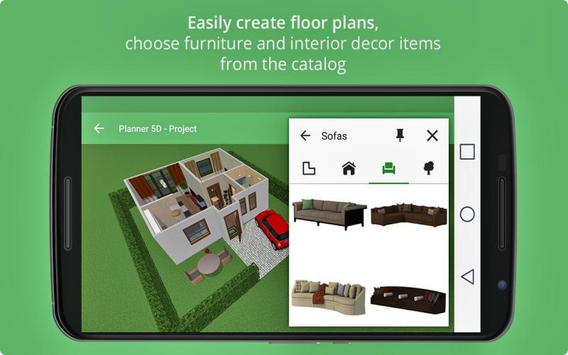 Planner 5D - Desain Interior