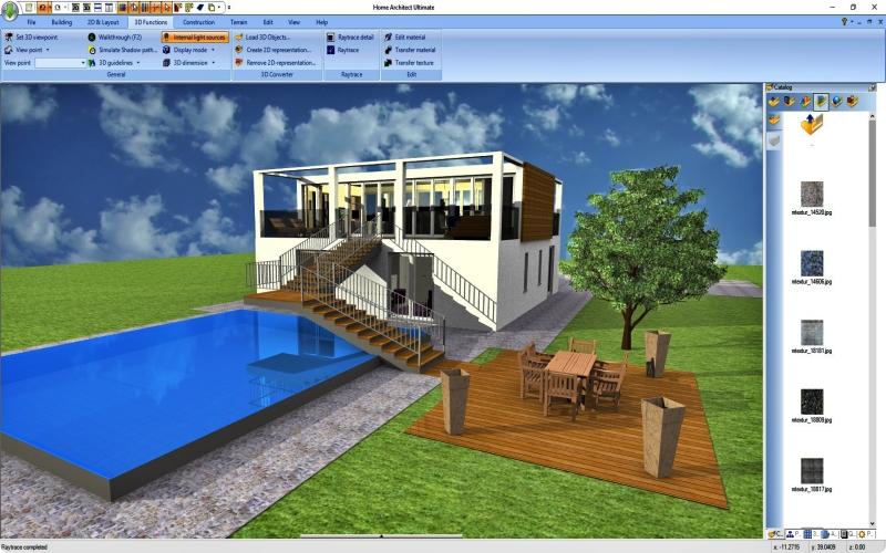 Arsitek Virtual, Desain Rumah Utama