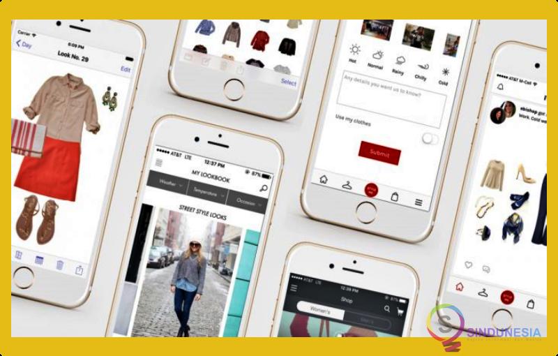 aplikasi desain baju Fashion Design FlatSketch
