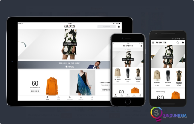 aplikasi desain baju STYLE.COM
