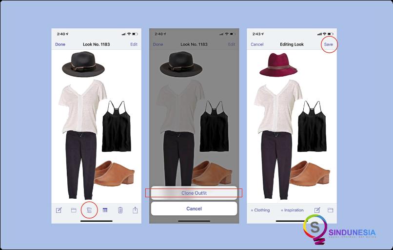 aplikasi desain baju STYLEBOOK
