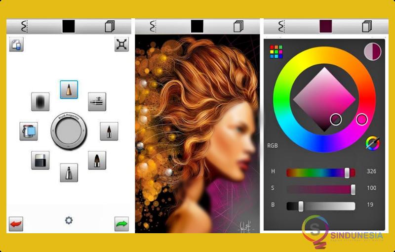 aplikasi desain baju Sketchbook Express