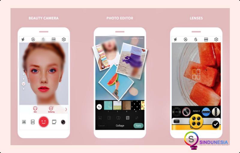 aplikasi edit foto di android Cymera