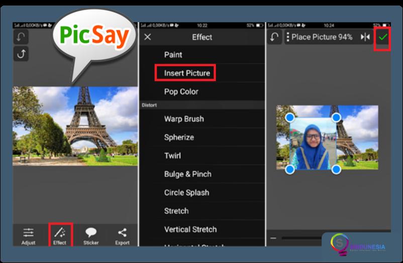 aplikasi edit foto di android picsay