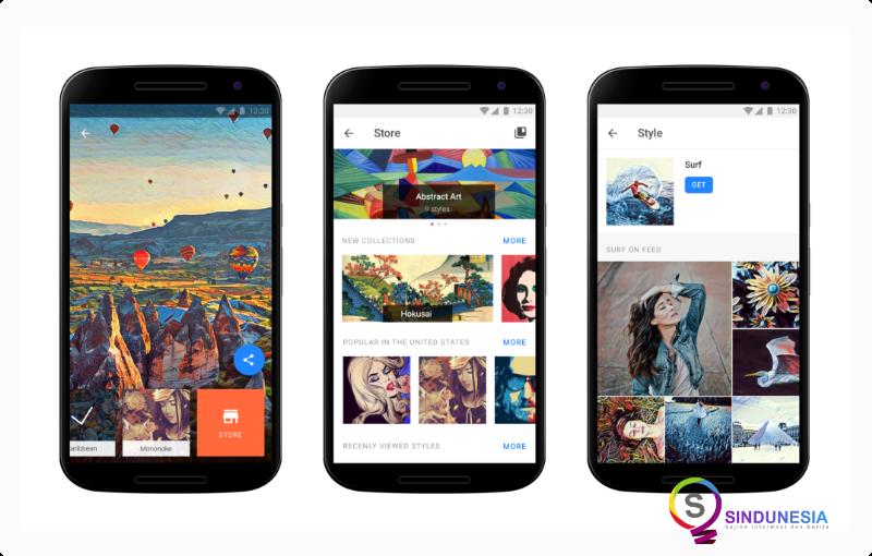 aplikasi edit foto di android prisma