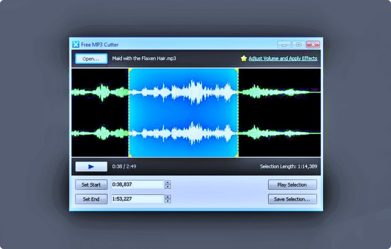 aplikasi-edit-lagu-pc-online Mp3 Cutter
