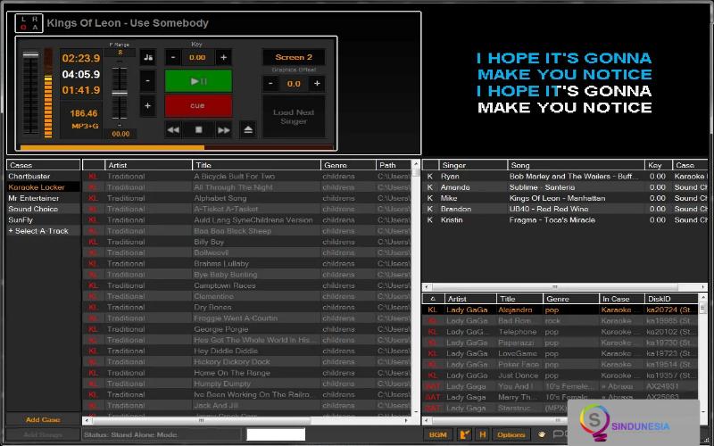 aplikasi karaoke untuk pc PCDJ Karaoki