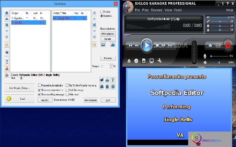 aplikasi karaoke untuk pc Siglos Karaoke Professional