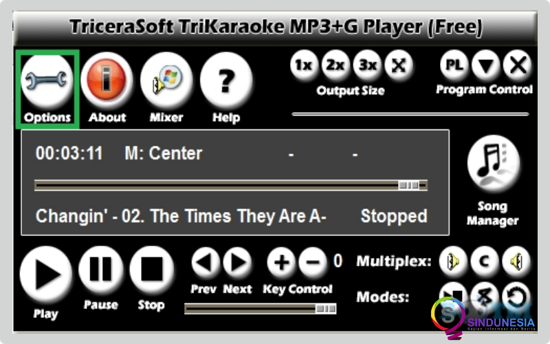 aplikasi karaoke untuk pc Tri Karaoke