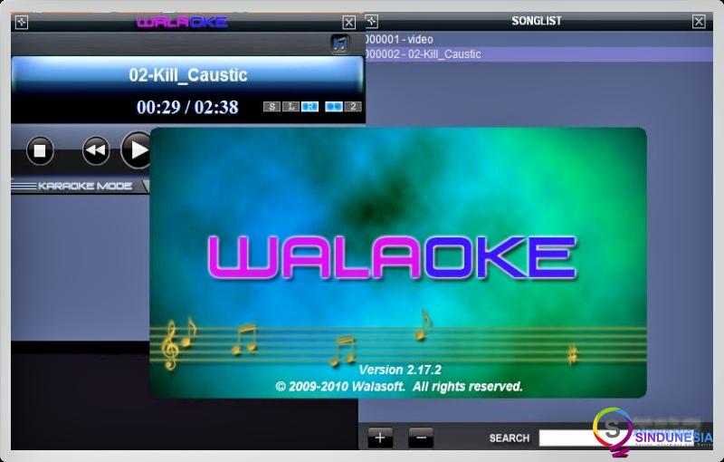 aplikasi karaoke untuk pc Walaoke