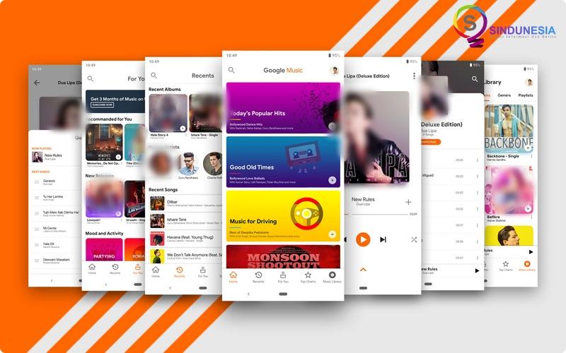 download aplikasi musik android Google Play Music