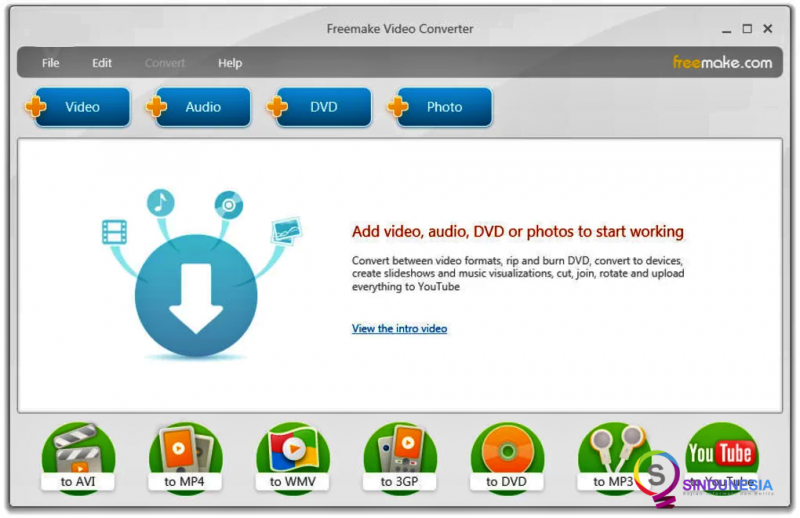 download aplikasi convert video Freemake Video Converter