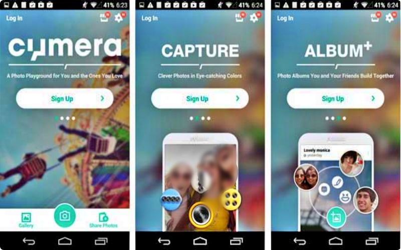 download aplikasi kamera android Cymera