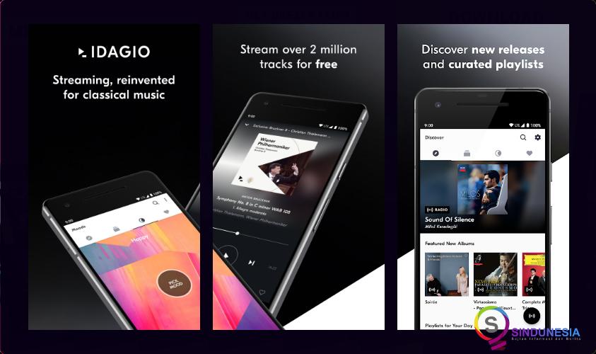 download aplikasi musik android IDAGIO
