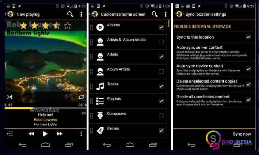 download aplikasi musik android MediaMonkey