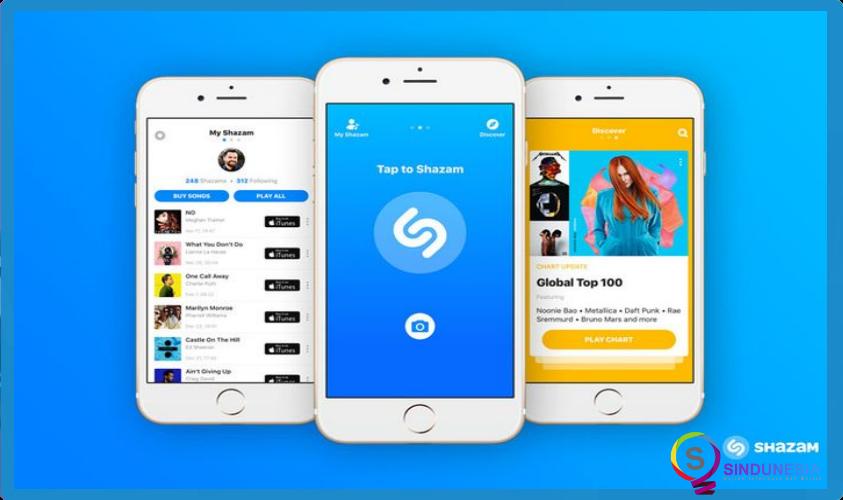 download aplikasi musik android Shazam