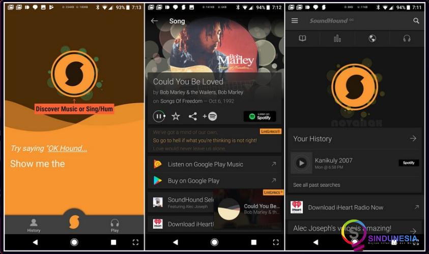 download aplikasi musik android SoundHound