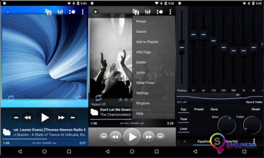 download aplikasi musik android Poweramp