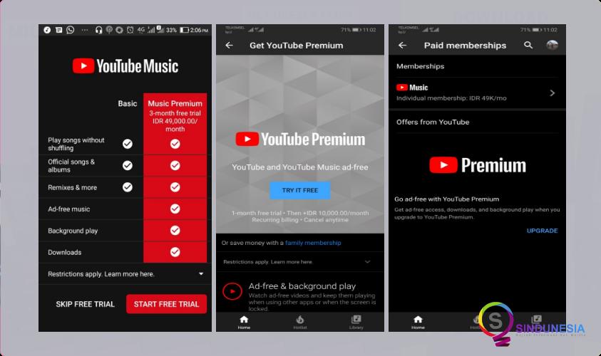 download aplikasi musik android YouTube Music