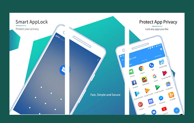 Apliakasi pengunci aplikasi Smart AppLock (App Protect)
