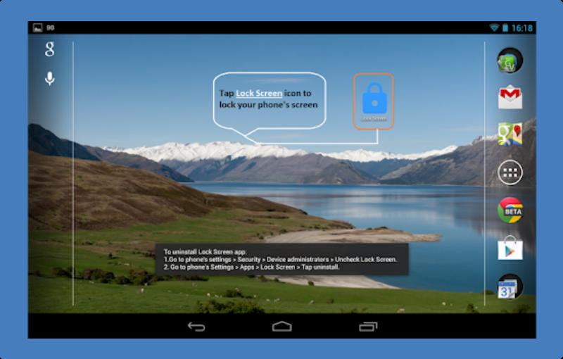 Aplikasi Kunci layar Lock Screen