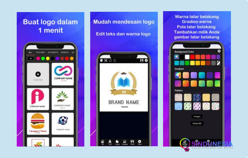 Aplikasi Pembuat Logo Logo Maker 2020