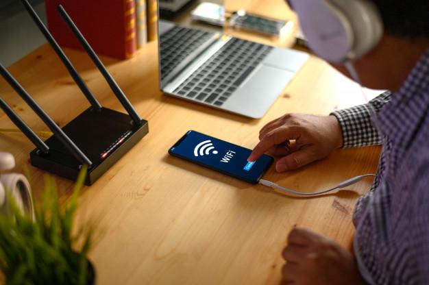 Aplikasi Penguat Sinyal WIFI