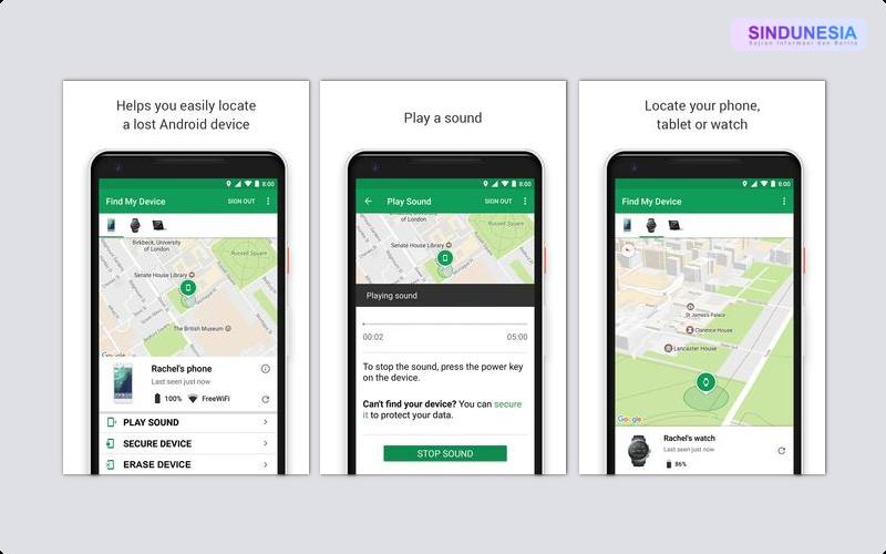 Android Device Manager Aplikasi Paling Berguna