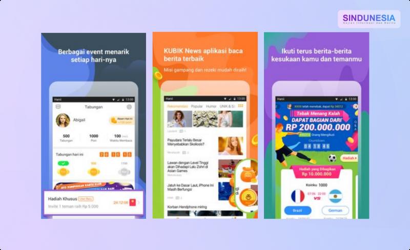 Aplikasi Penghasil Pulsa Kubik News