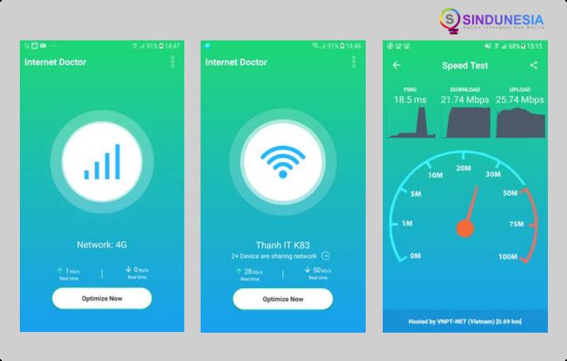 Aplikasi penguat sinyal wifi WiFi Doctor – Detect & Boost