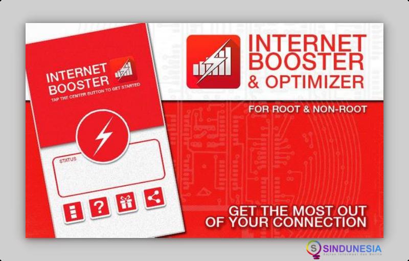 Internet Booster & Optimizer aplikasi wifi