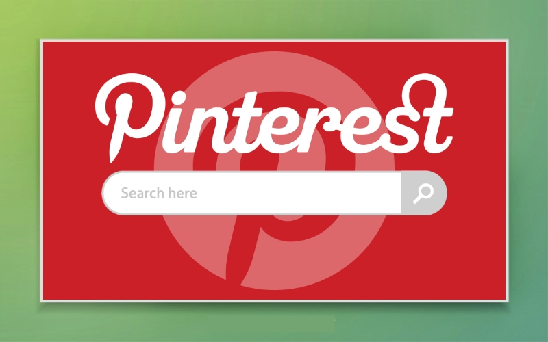 Pinterest web browser