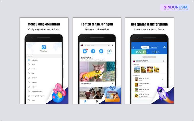 SHAREit Aplikasi Paling Berguna