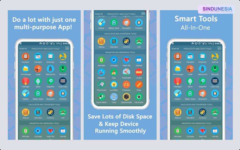 Smart Kit 360 Aplikasi Paling Berguna